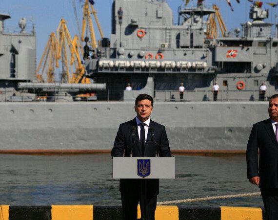 В Одессу прибыл президент Владимир Зеленский
