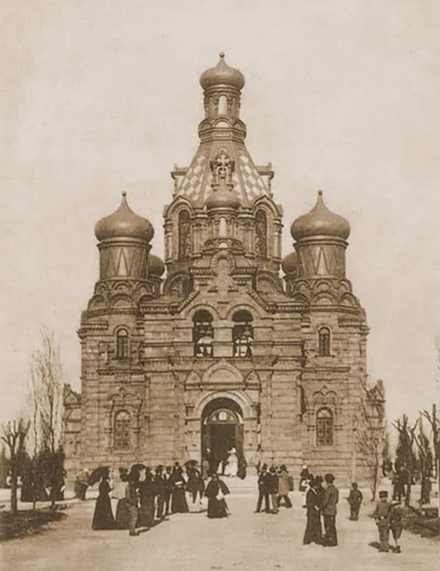 Церковь на новом кладбище