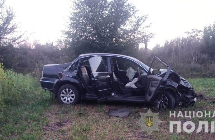 В Одесской области Volkswagen вылетел с трассы: есть пострадавшие