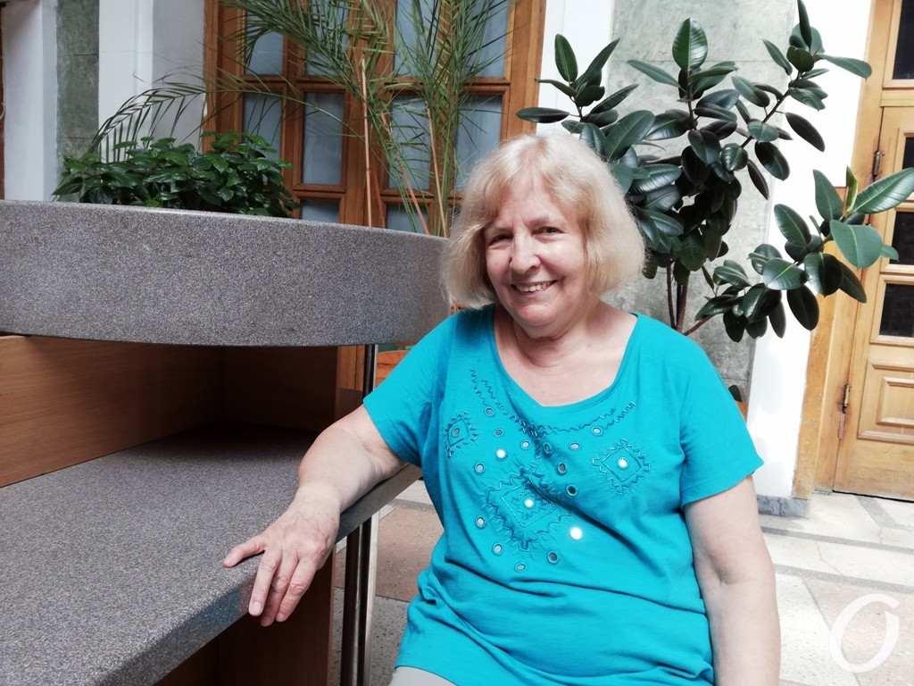 Одесситка Анна Головатая