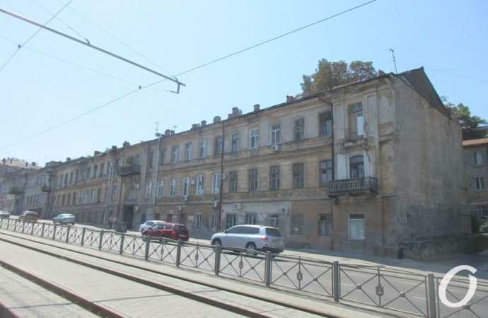 В Одессе грядет капремонт старого дома на спуске Маринеско (фото)