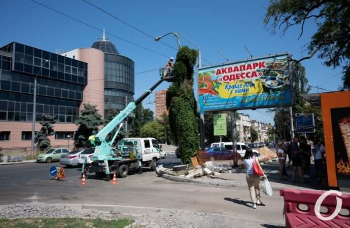 Ремонт одесской улицы Черняховского: что изменилось за месяц? (фоторепортаж)