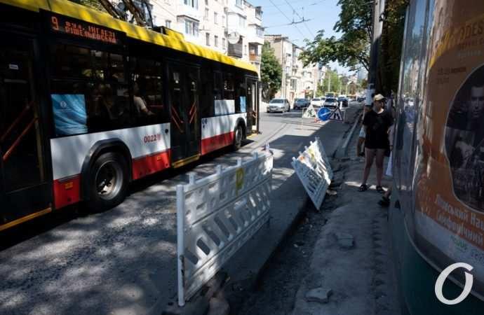 Одесскую улицу Черняховского перекроют на выходные (видео)