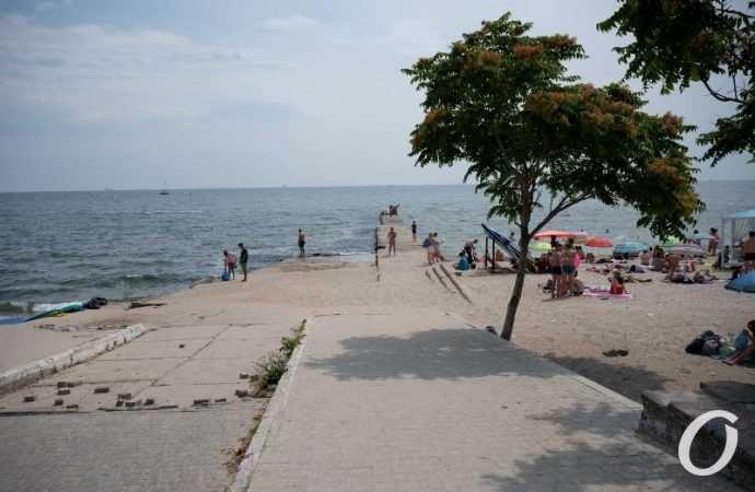 Температура морской воды в Одессе 7 сентября: холоднее не стала