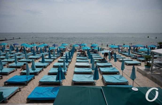 Температура морской воды в Одессе 24 сентября: немного теплее воздуха