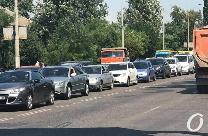 Пробки в Одессе: где сложно проехать утром пятницы 6 августа