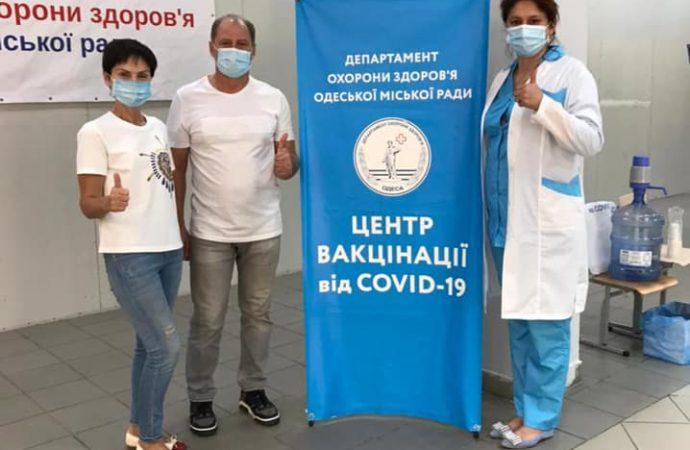 В Одессе установили рекорд по прививкам от коронавируса за уикенд: сколько человек вакцинировали?