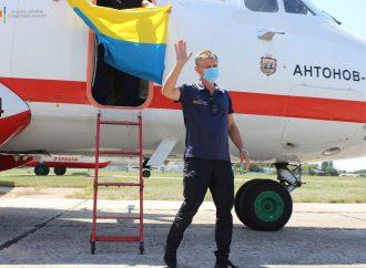 В Украину вернулись пожарные самолеты из Турции (фоторепортаж)
