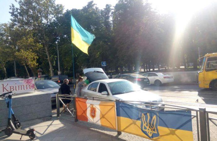 В Одессе схватили вандала: неожиданный финал