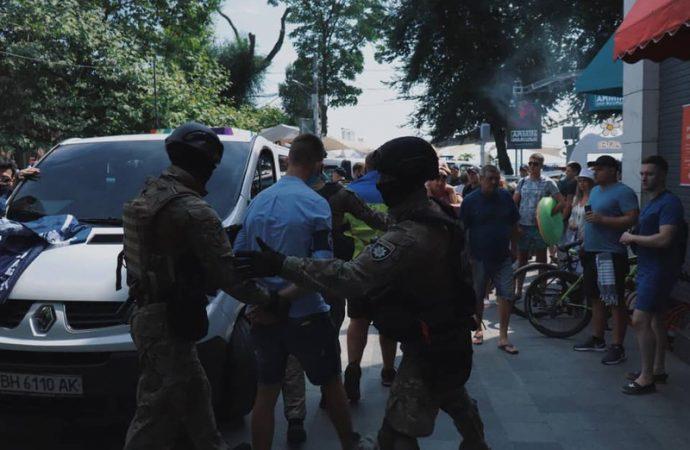 В Аркадии противников ЛГБТ-шествия задержала полиция: за что