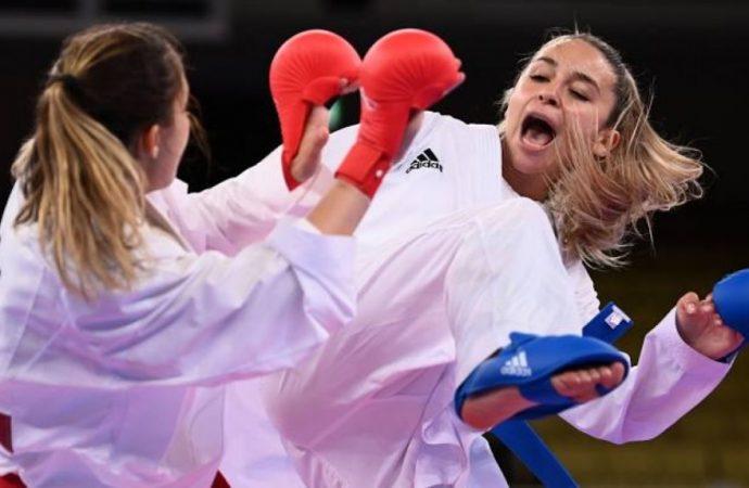 Одесская каратистка взяла «серебро» на Олимпиаде