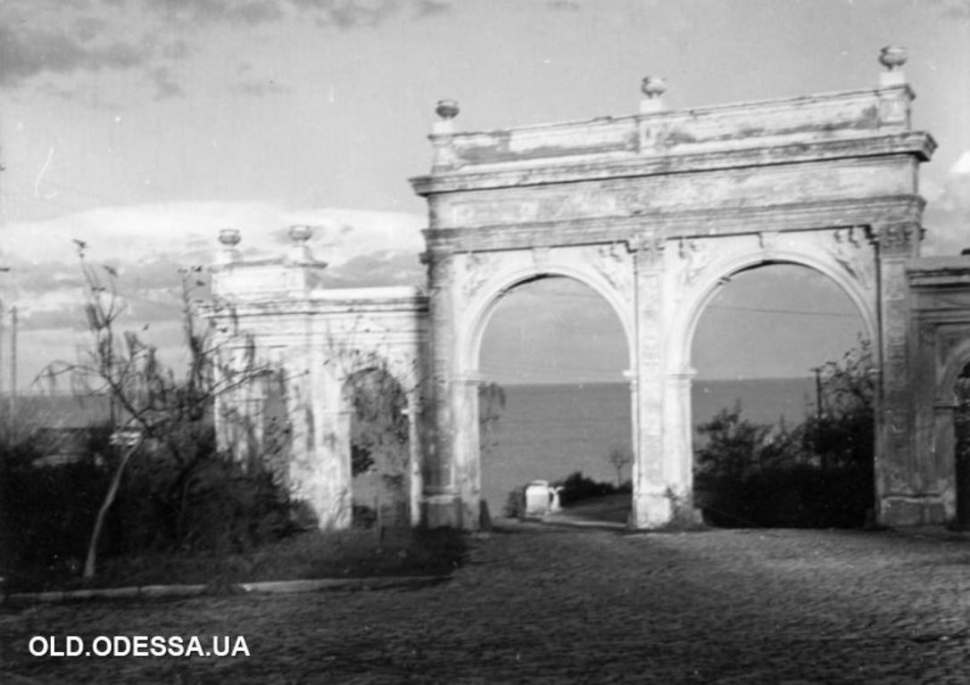 Ланжерон, арка, старые фото9
