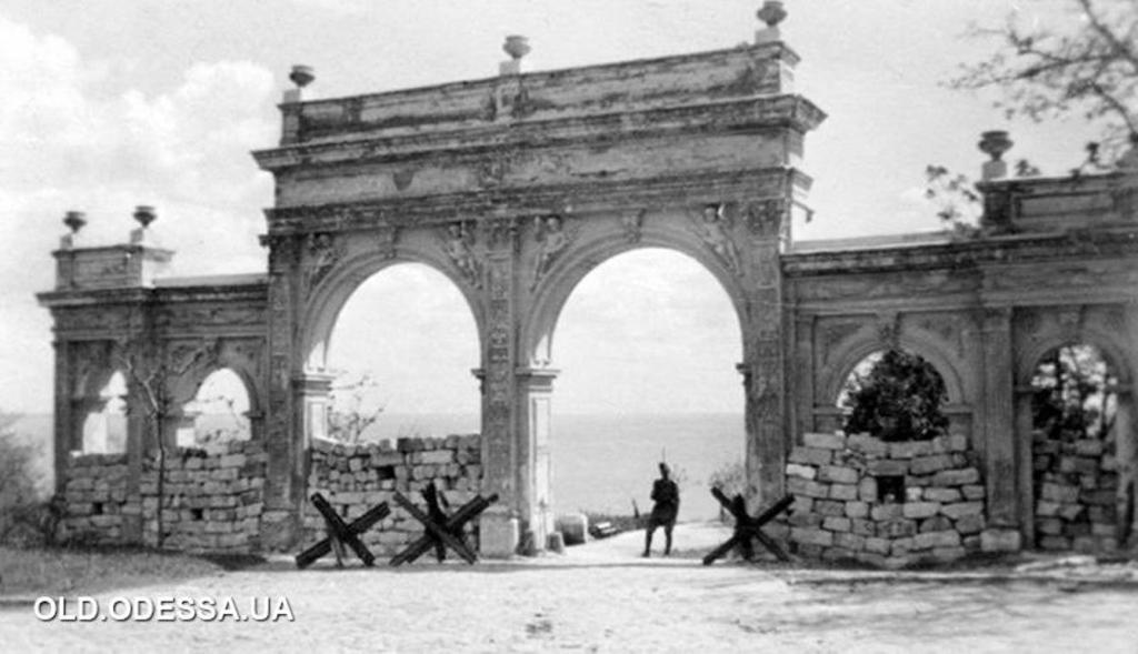 Ланжерон, арка, старые фото10