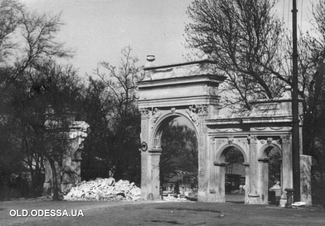 Ланжерон, арка, старые фото