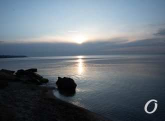 Рассвет в Черноморке: прохладный и прекрасный (фоторепортаж)