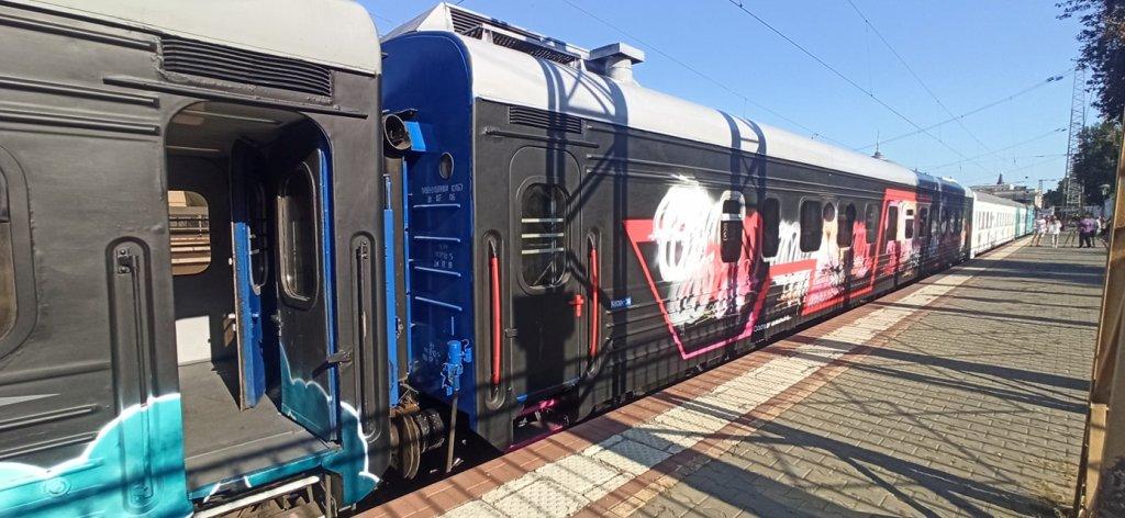 арт-поезд «Гоголь TRAIN» в Одессе3