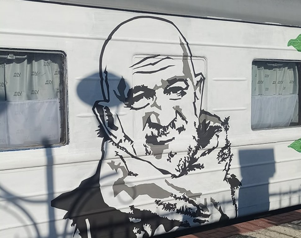 арт-поезд «Гоголь TRAIN» в Одессе4