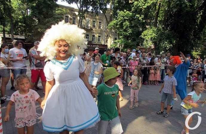 Погода в Одессе в последний летний день