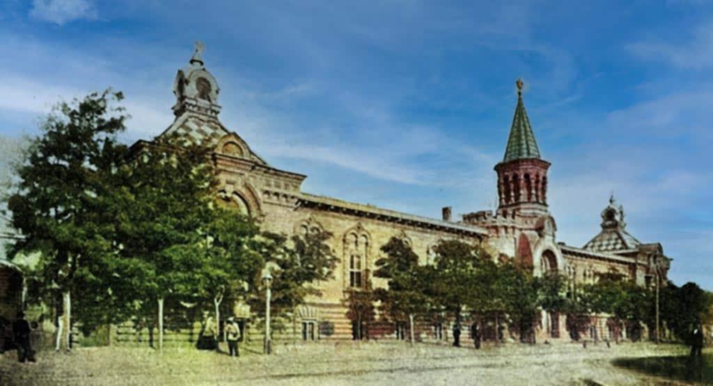 Инвалидный дом Одесса