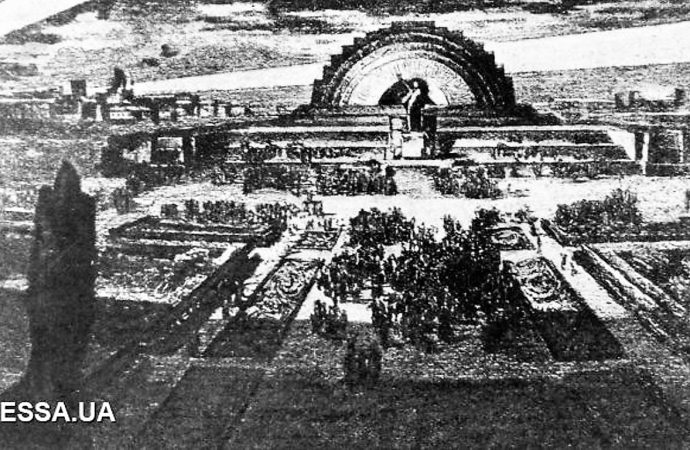 Триумфальная арка и ленинский мавзолей по-одесски: наши несбывшиеся прожекты