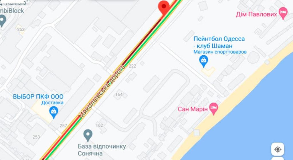 Пробки 16 августа, Николаевская дорога