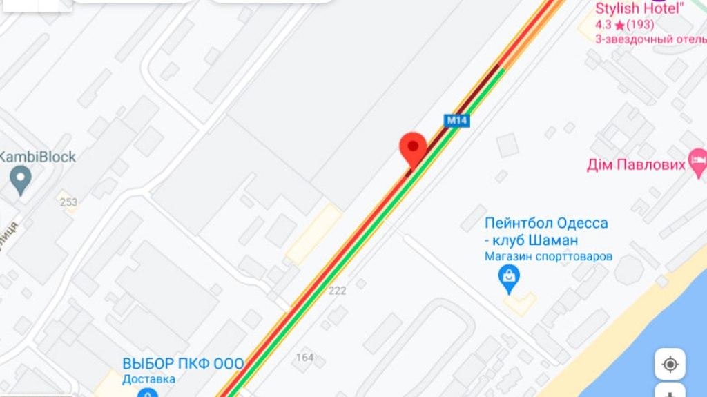 Пробки 9 августа, Николаевская дорога