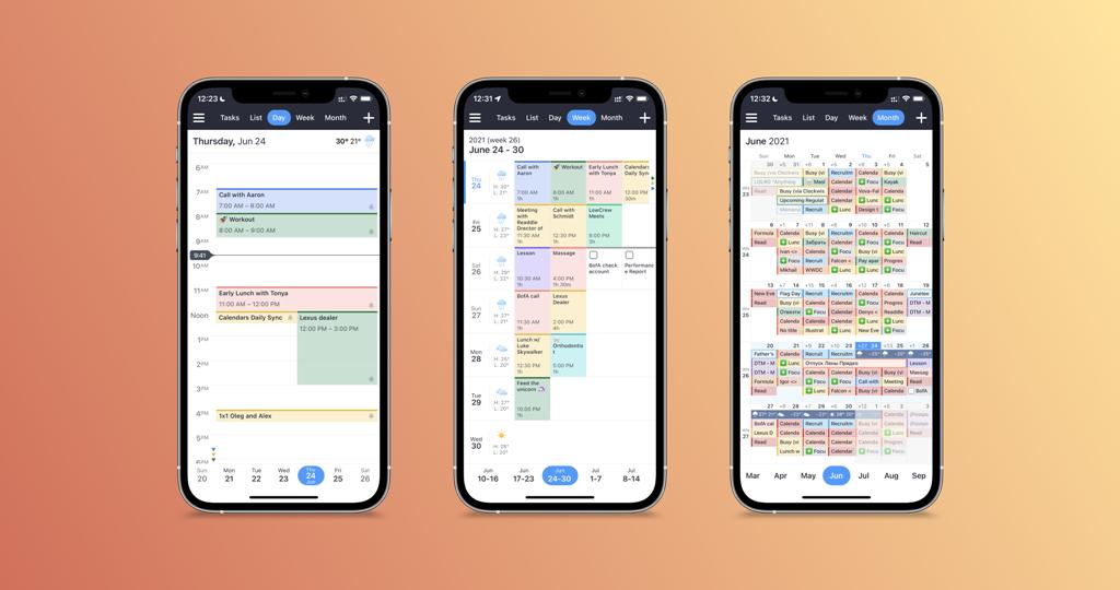 Calendars от Readdle3