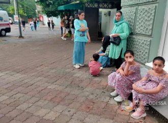 В Одессу привезли сотню беженцев из Афганистана (фото, видео)