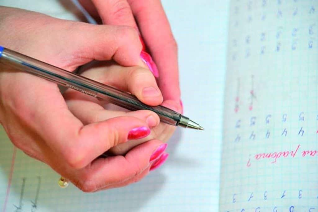 дети советы почерк