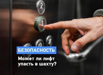 Может ли лифт упасть в шахту?