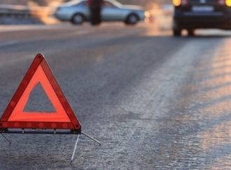 В Одессе «Фольксваген» протаранил мотопатрульного