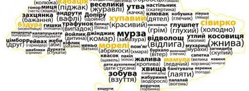 Говорит Украина: какие слова характерны для разных регионов страны