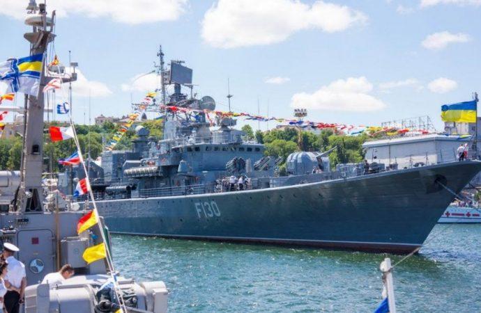 Ко Дню Независимости в Одессе состоится большой морской парад и показательный «морской бой»