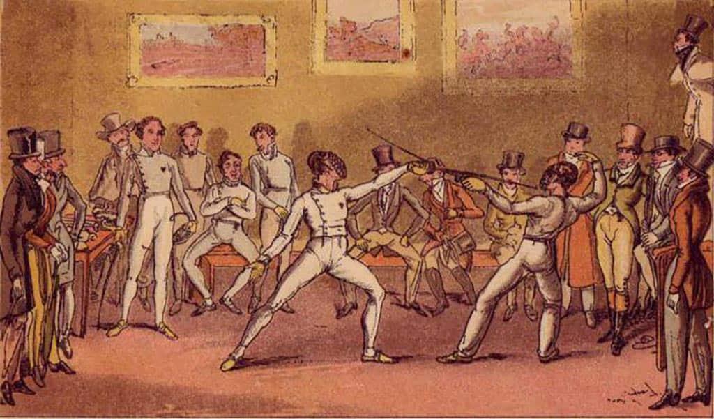 мушкетеры фехтование история