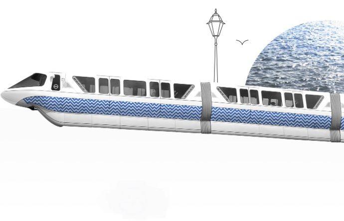 Дизайнер представил новую схему одесского метро – с бонусной морской линией