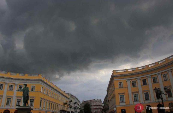 В Одесской области в Раздельной и Любашевке сильные дожди – фронт движется на Одессу