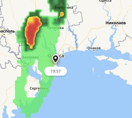 Дождь дойдет до Одессы