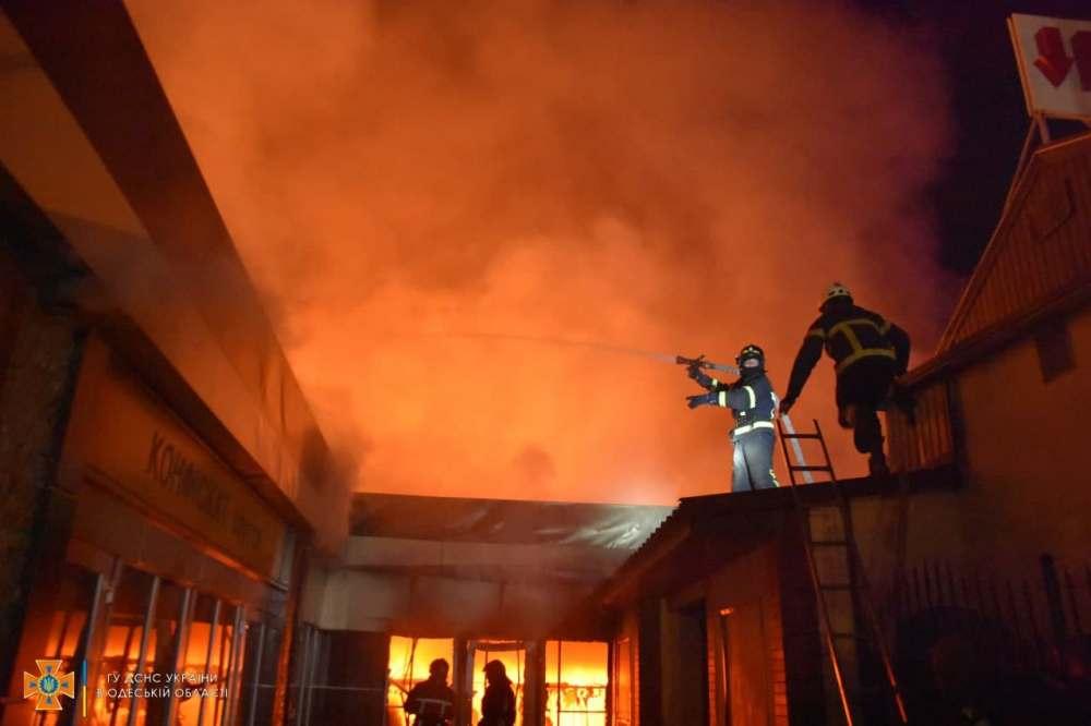пожар в обувном магазине «Конфискат»2