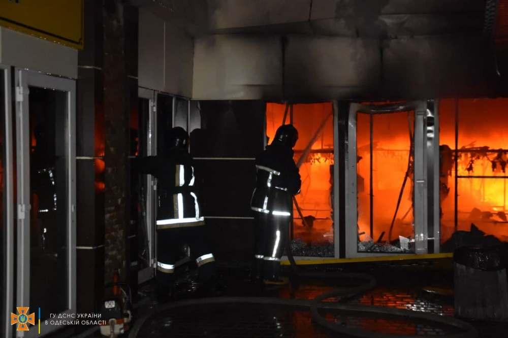пожар в обувном магазине «Конфискат»3