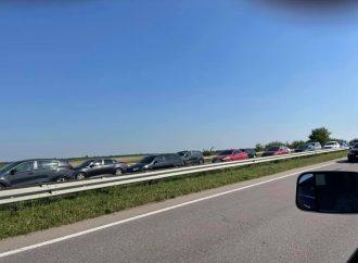 Пробки и ДТП в Одессе 30 сентября: где сложно проехать