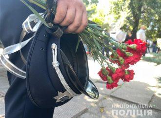 В Одессе простились с тремя погибшими полицейскими (фоторепортаж)