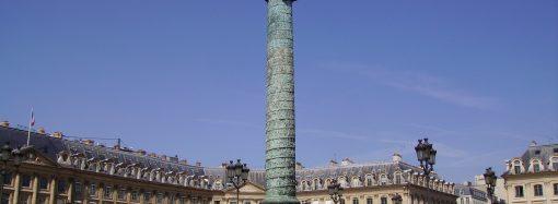 Этот день в истории: из чего построили Вандомскую колонну в Париже?