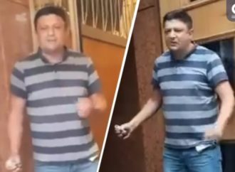 Здание Кабмина захватил мужчина, вооруженный гранатой: чиновники повели себя странно (видео)