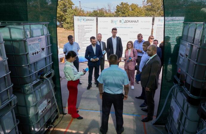 Делегация народных депутатов проверила работу очистных сооружений «Инфоксводоканала»
