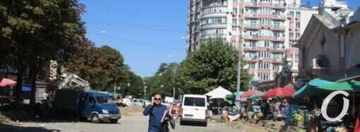 Преображенская у Привоза: ремонт, торговля и дорога к рынку (фото)