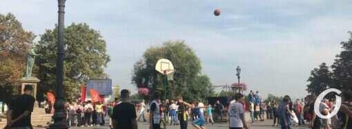 В центре Одессы стартовал спортивный фестиваль (фото)
