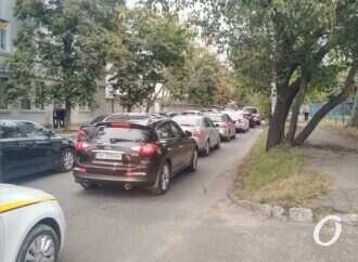 Пробки и ДТП в Одессе 23 сентября: много пробок, мало аварий