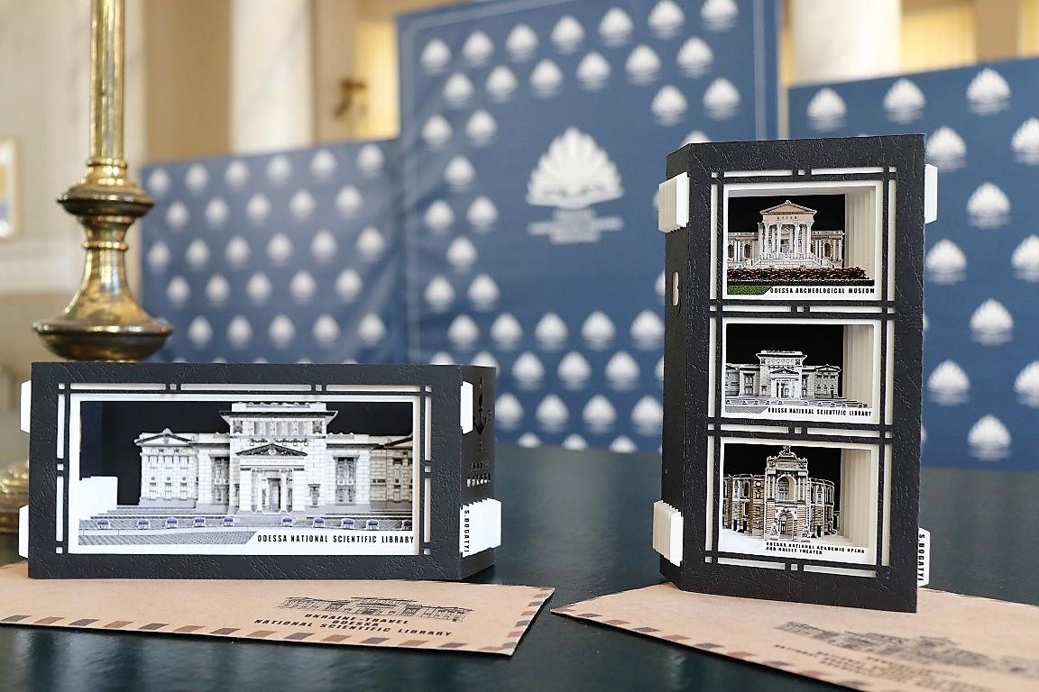 макеты памятников архитектуры Одессы