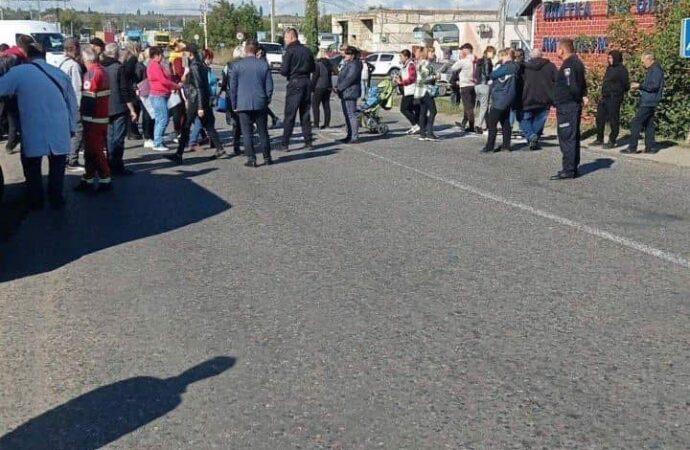 В Кучурганах «карантинный бунт»: протестующие перекрыли трассу на Кишинев