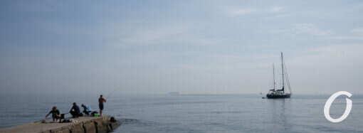 На одесских пляжах осени как не бывало (фоторепортаж)